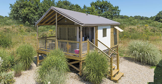ECOLODGE on stilts seaview (4/6 pers.) model 2017
