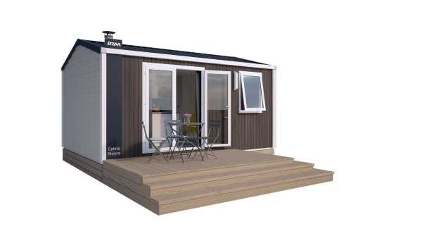 MOBILE  HOME  PREMIUM  1  bedroom  mountain  side  (2/4 pers.)  model  2019